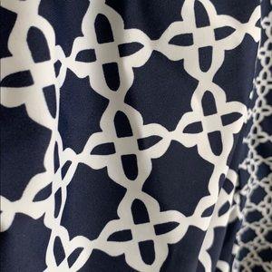 Merona Swim - Navy/White Patterned Tankini Top